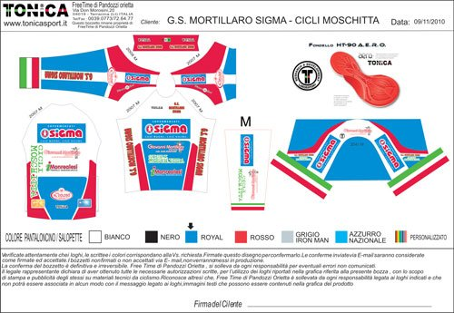 diamond card sponsor TEAM MOSCHITTA