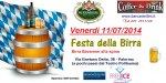 """venerdì 11 luglio al """"castellini coffee & drink"""" è festa della birra!"""