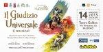 """""""il giudizio universale"""" il musical - teatro golden 14 maggio 2015 ore 21:00"""