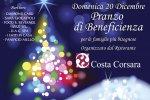 """domenica 20 dicembre """"pranzo di beneficienza"""" organizzato dal ristorante """"corsa corsara"""""""