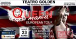 al teatro golden tributo ai queen e a freddie mercury. sconto per diamond card!